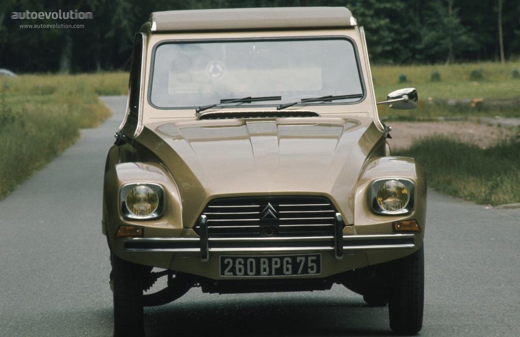 Dyane 6 1977 face avant