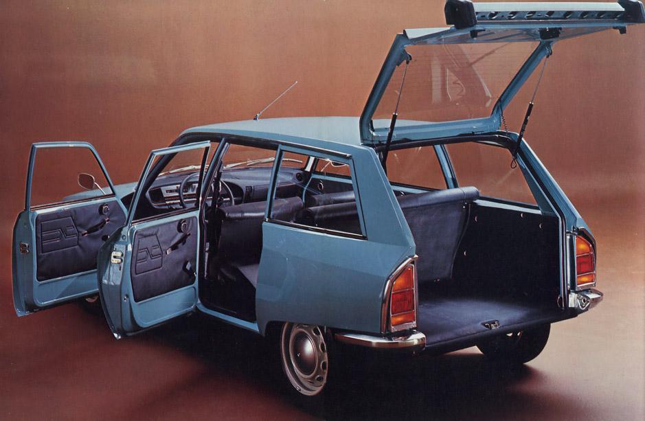 GS 1015 Break Confort 1971 3/4 arrière