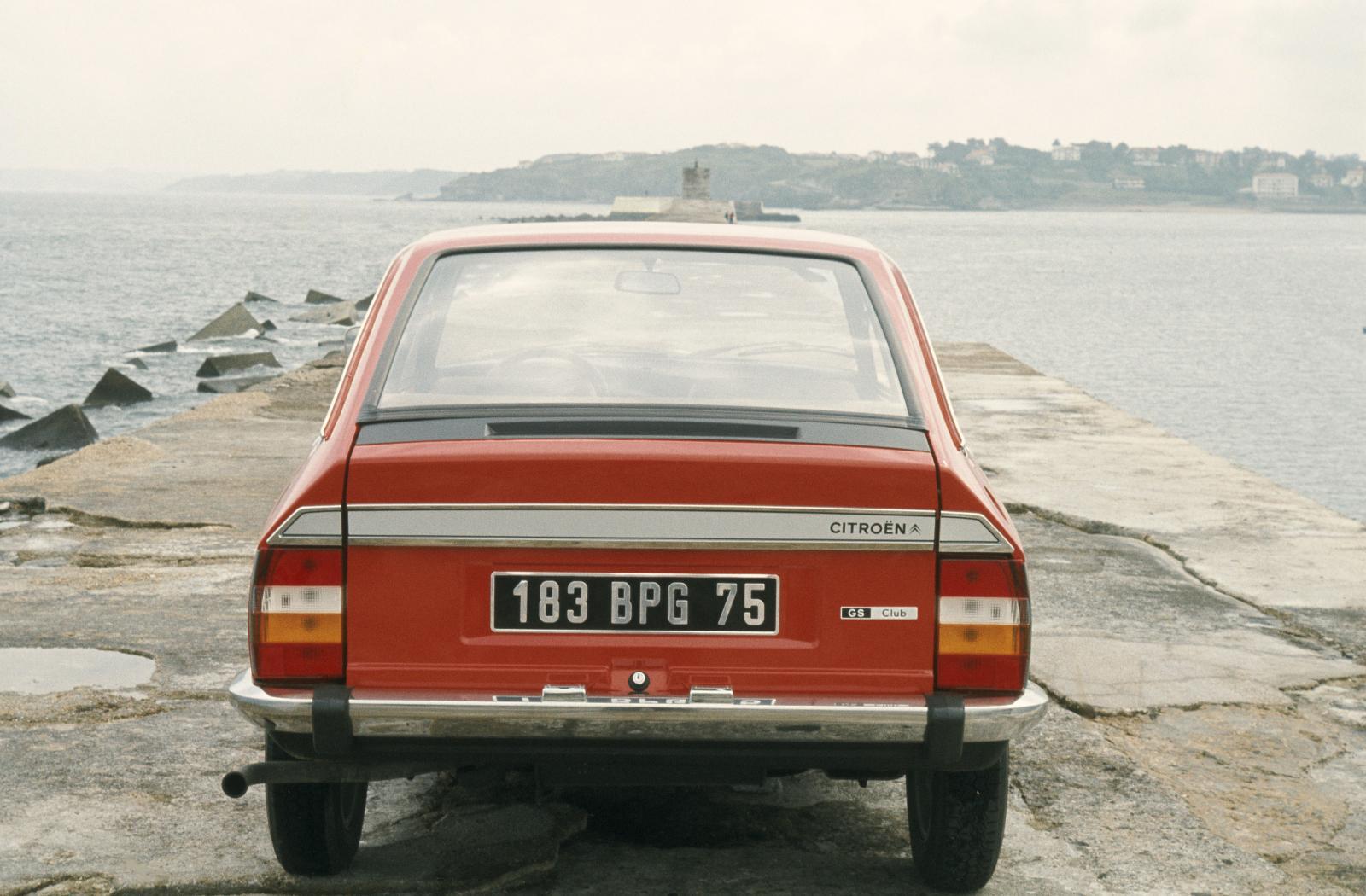 GS Club 1978 vue arrière