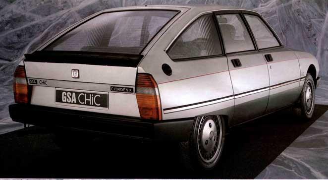 GSA Chic 1985