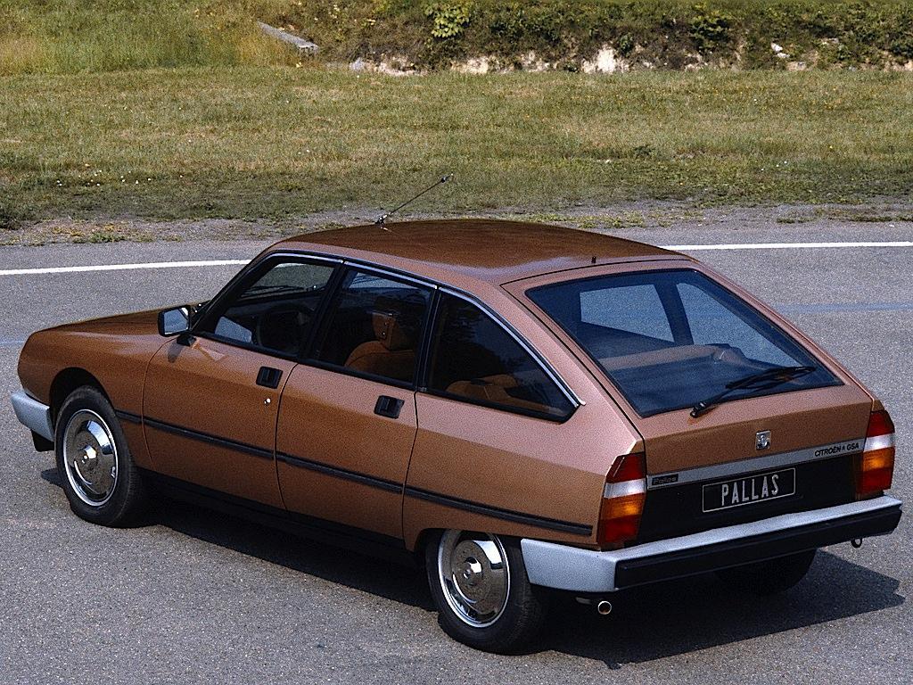 GSA Pallas 1979 3 quarts arrière