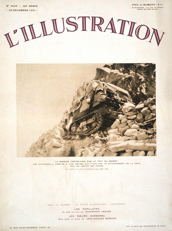 Illustration Croisière Jaune - 1931