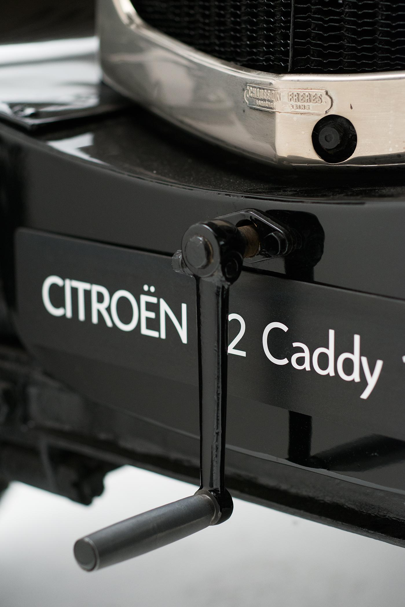 B2 Caddy - détail