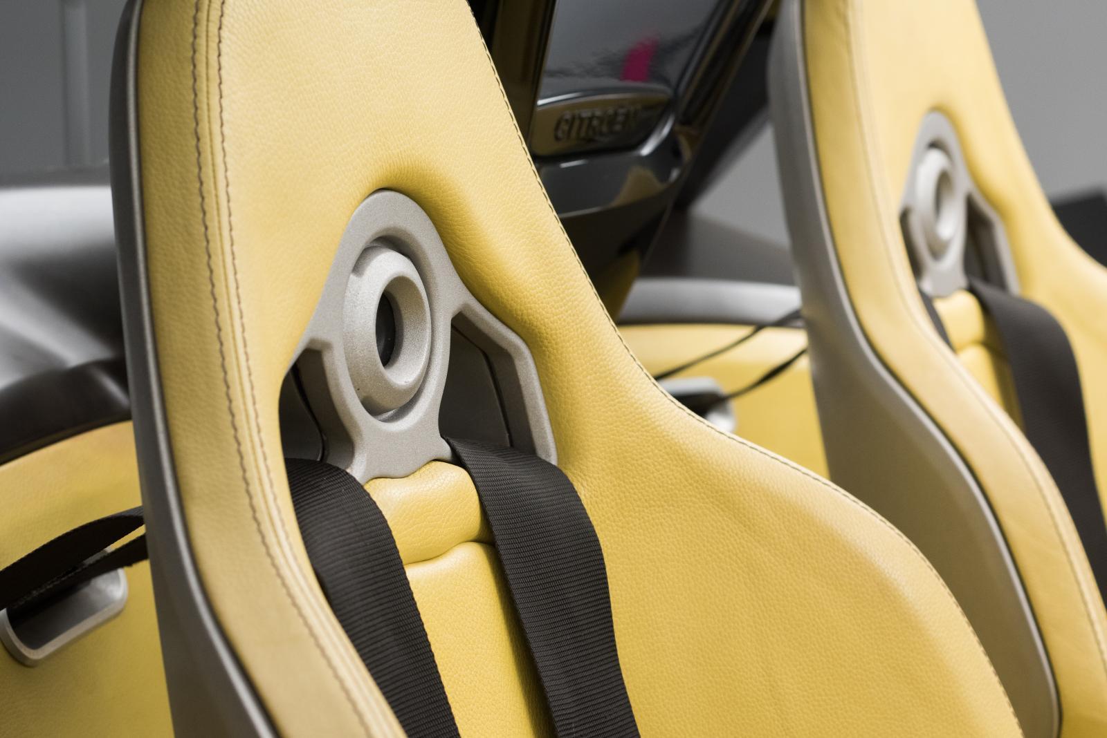 Citroën C-Buggy - sièges