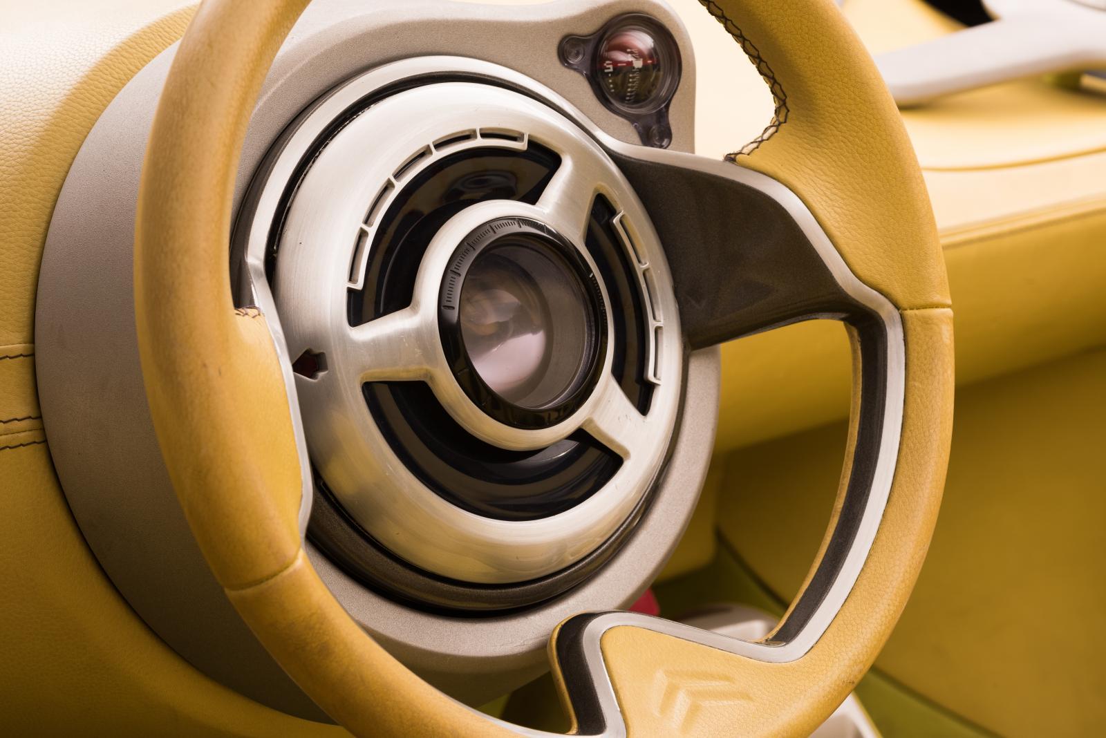 Citroën C-Buggy - volant