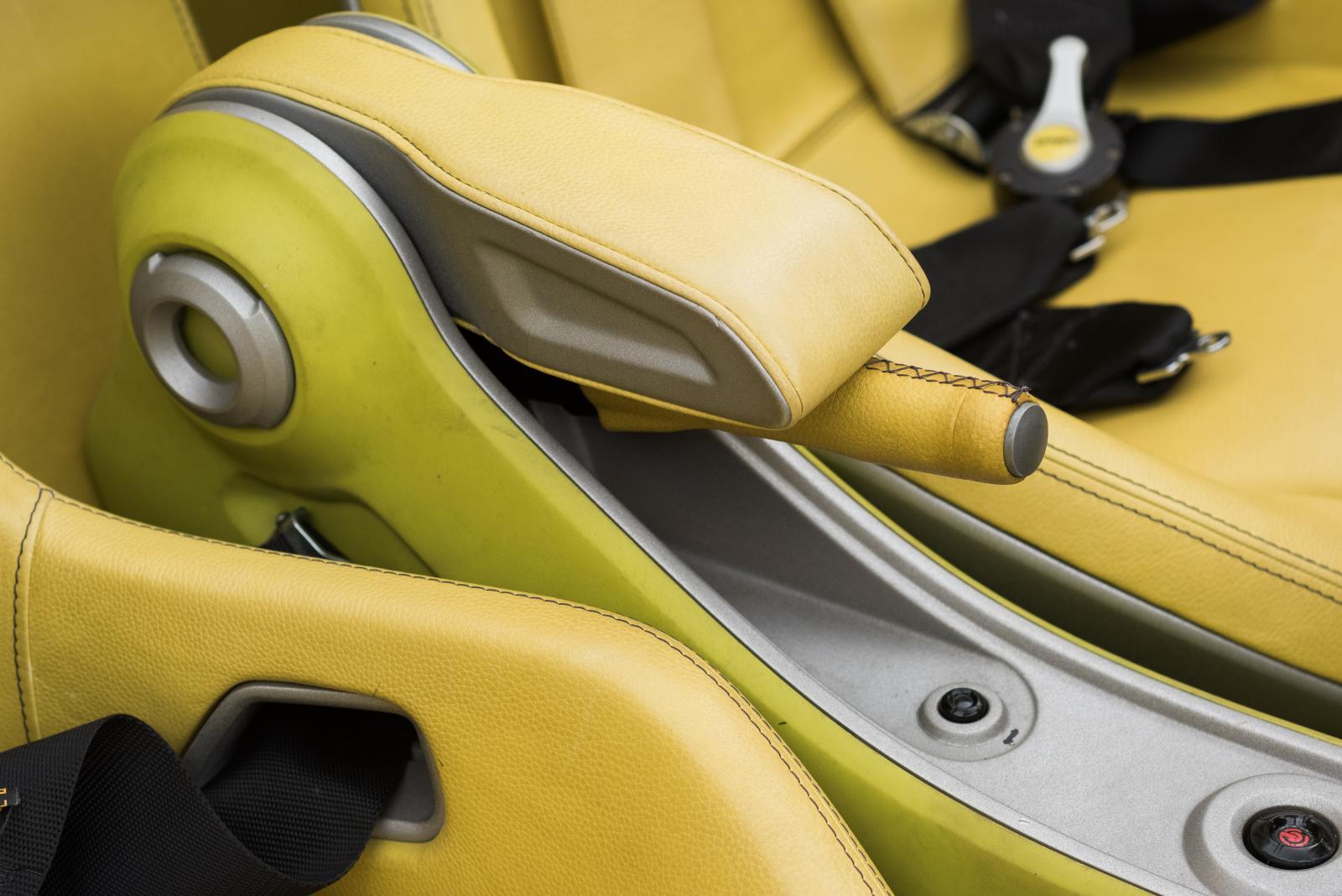 Citroën C-Buggy - frein à main