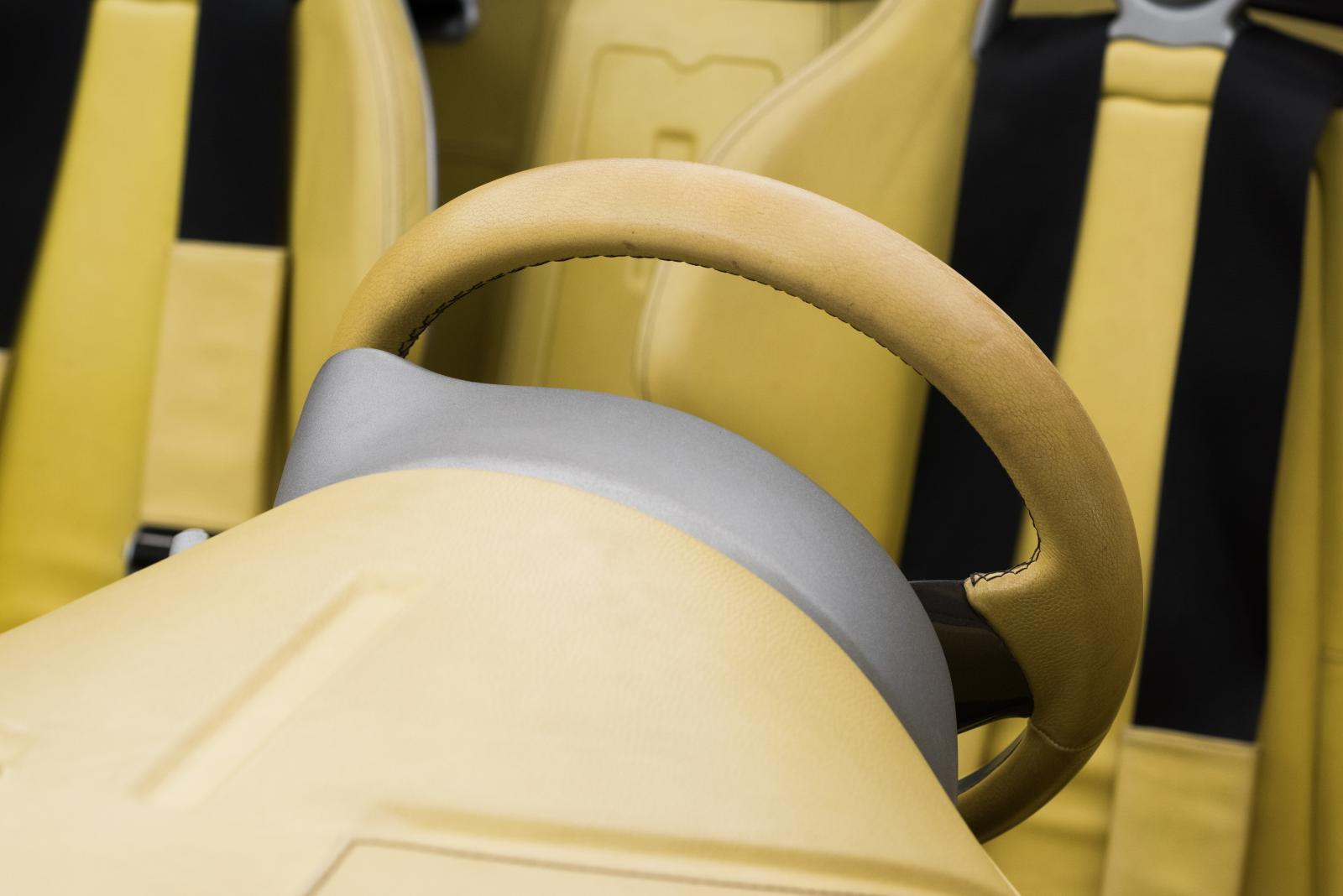 Citroën C-Buggy - volant et sièges