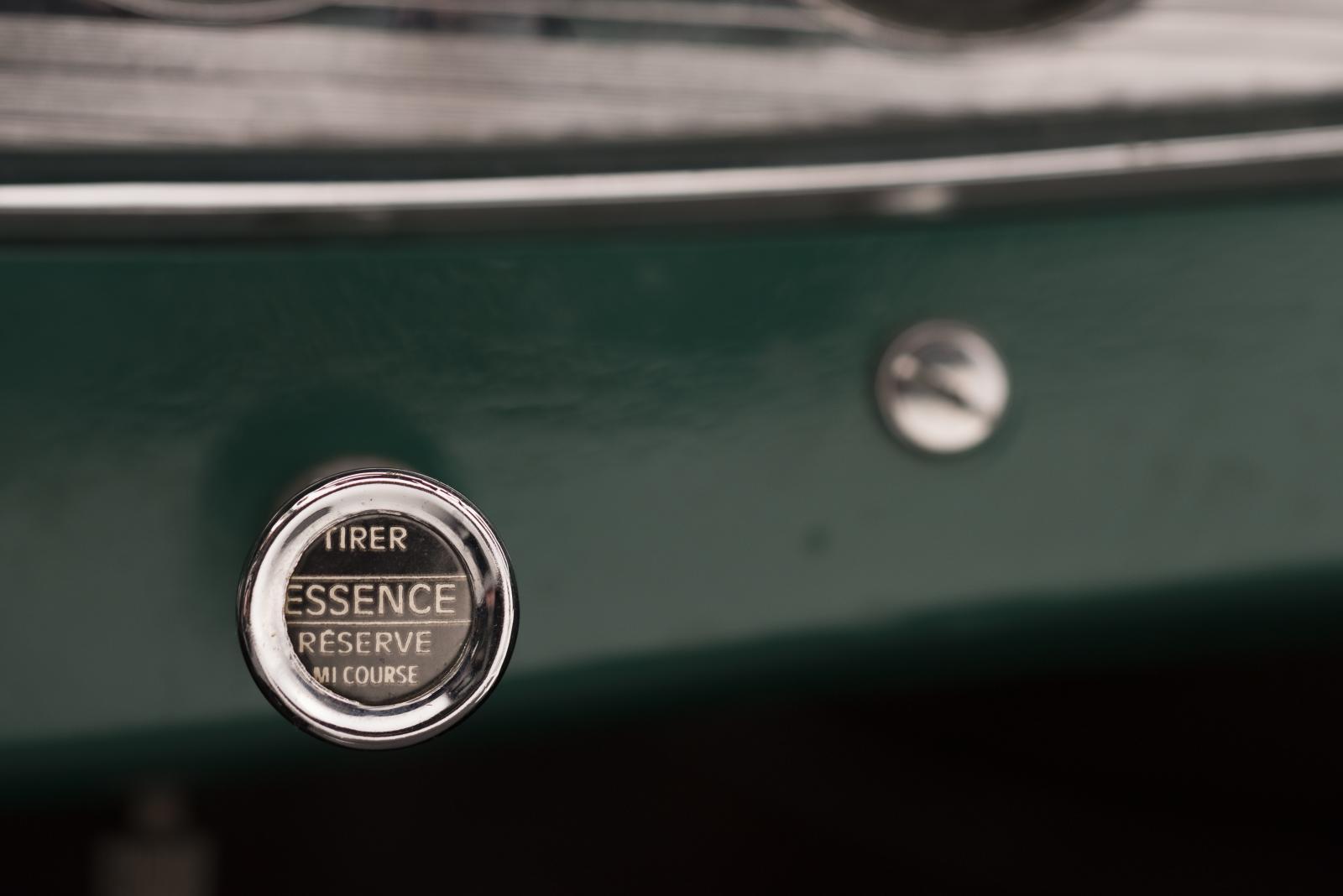 C4G Roadster - startknop