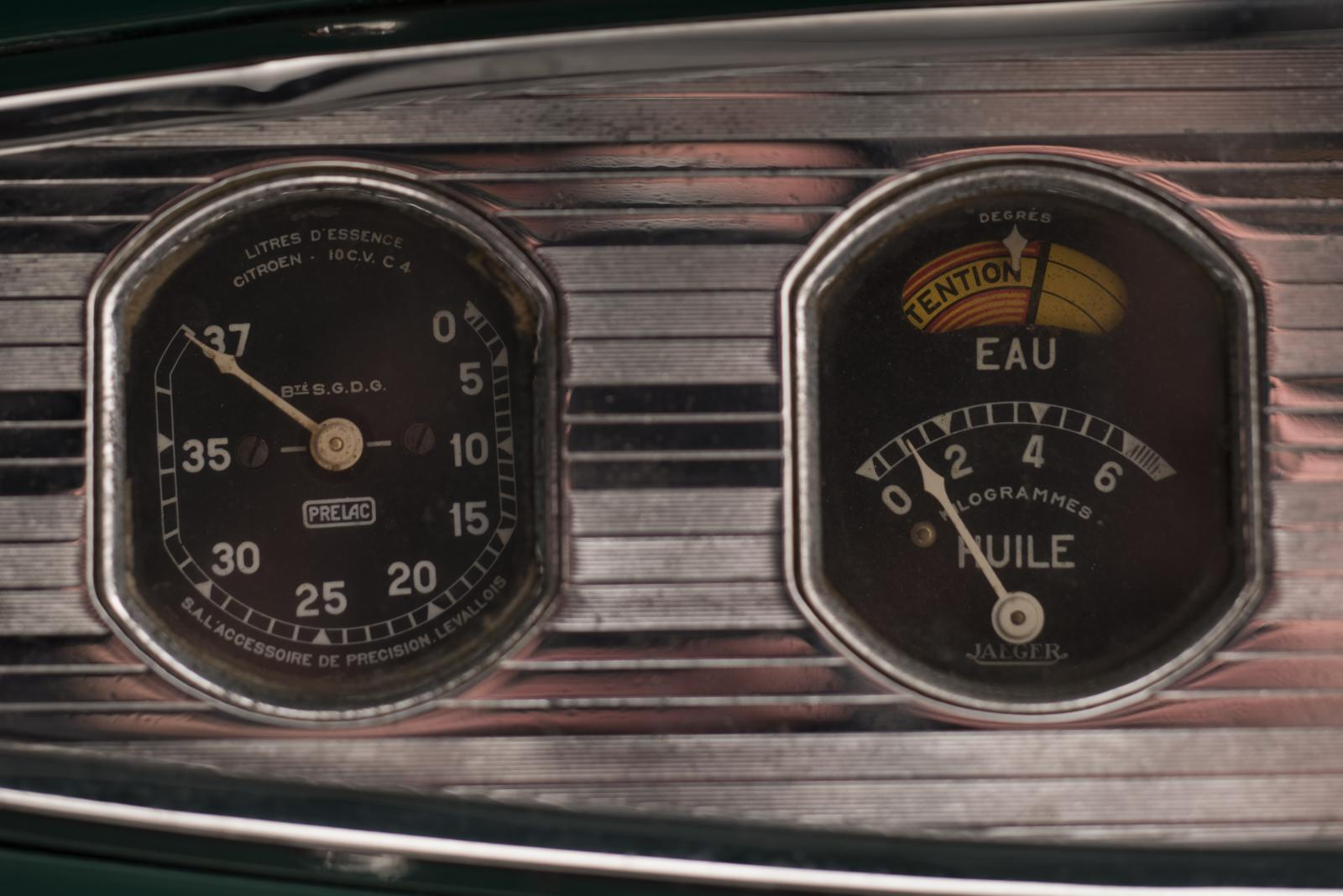 C4G Roadster - tableau de bord