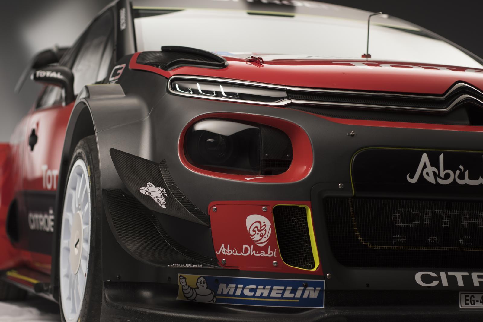 C3 WRC - 3/4 avant