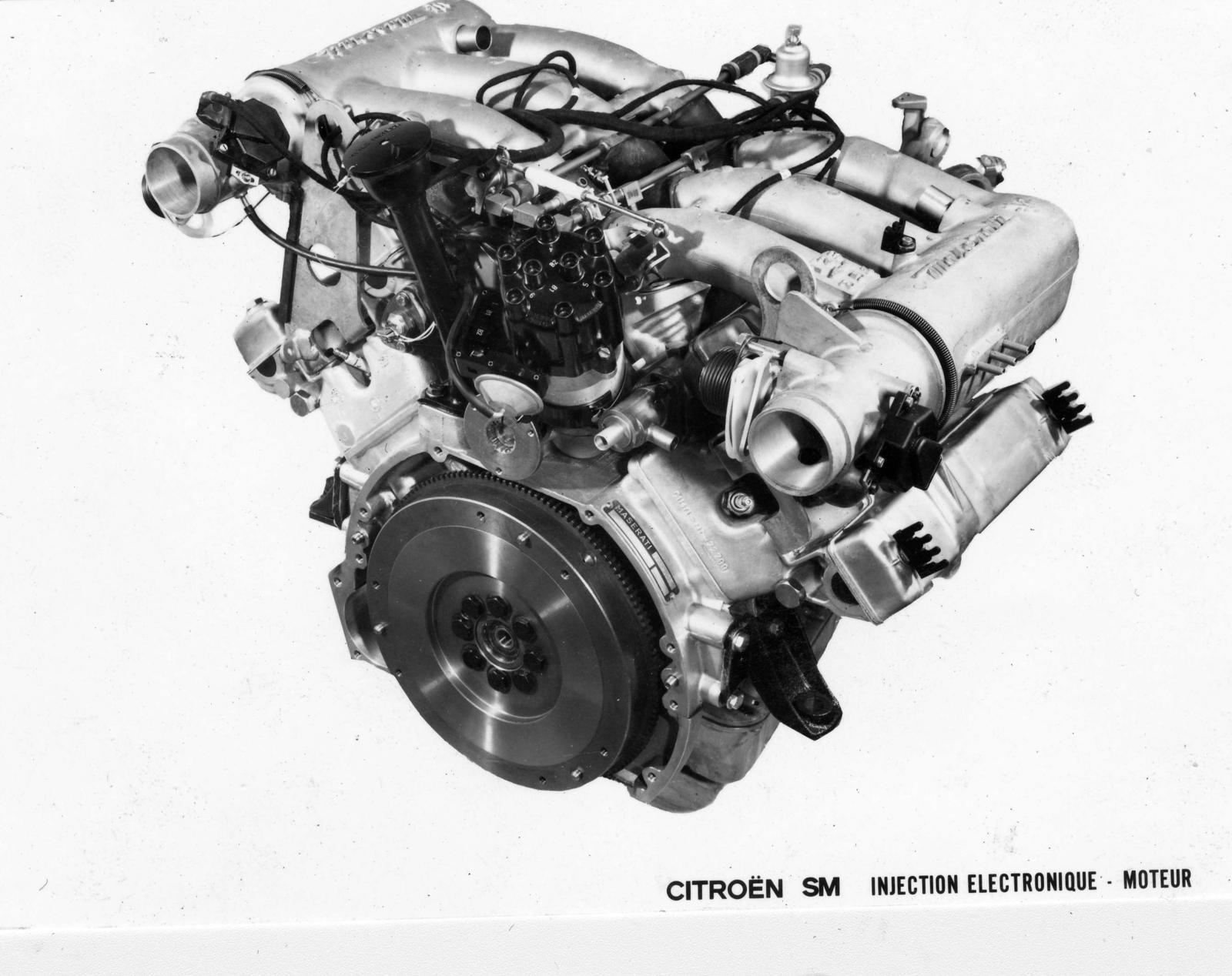 SM modelinin elektronik enjeksiyonlu motoru
