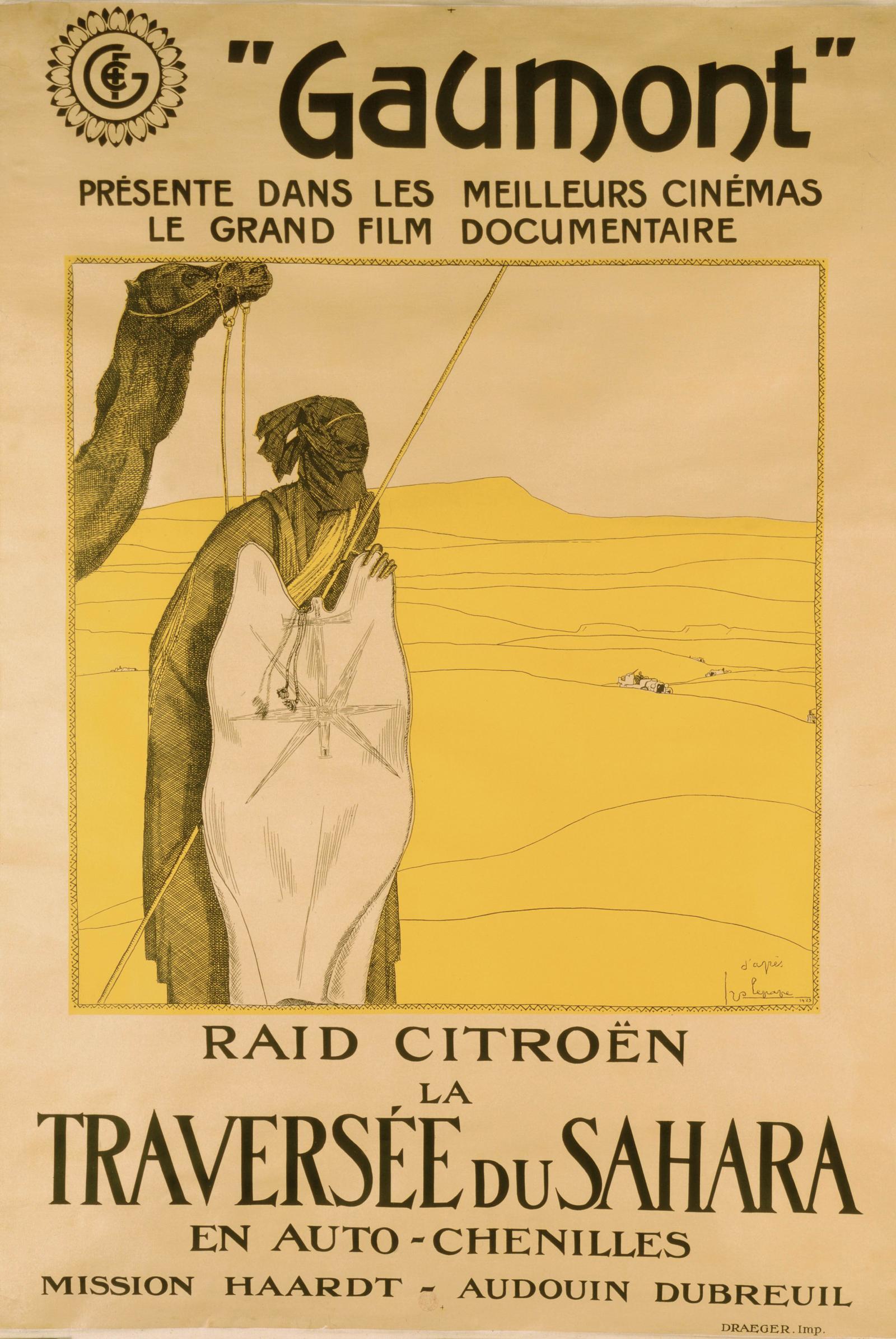 Première Traversée du Sahara 1923  - Gaumont