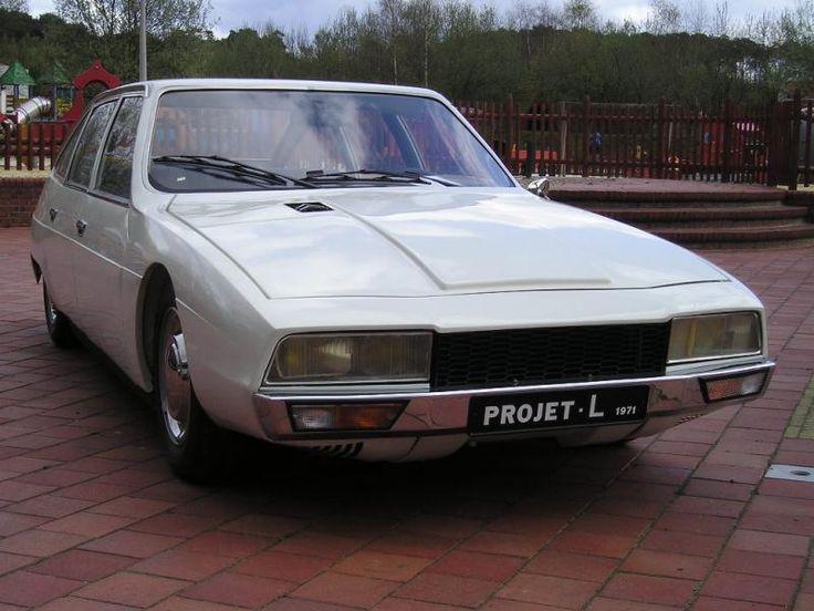 Projet l 1971 prototype CX