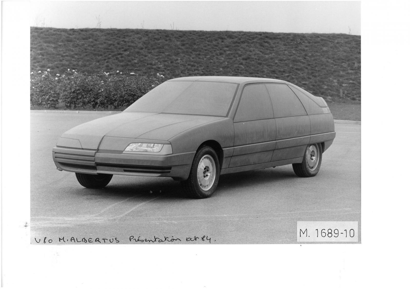 Projet V80 par ALBERTUS 1984