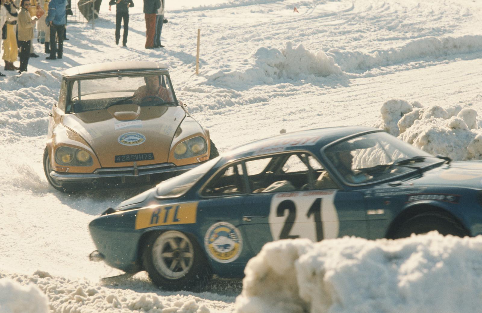 Ronde hivernale de Chamonix - DS 21 - 1972