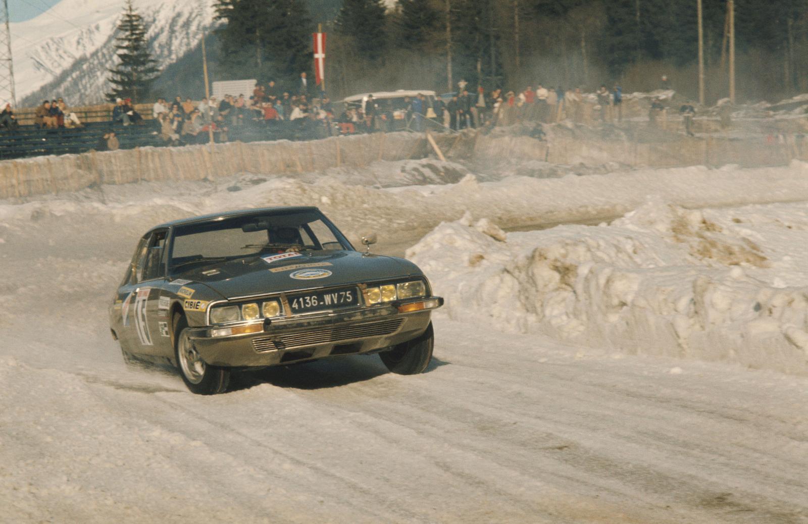 Chamonix Otomobil Yarış - SM - 1972 - arkadan görünüm