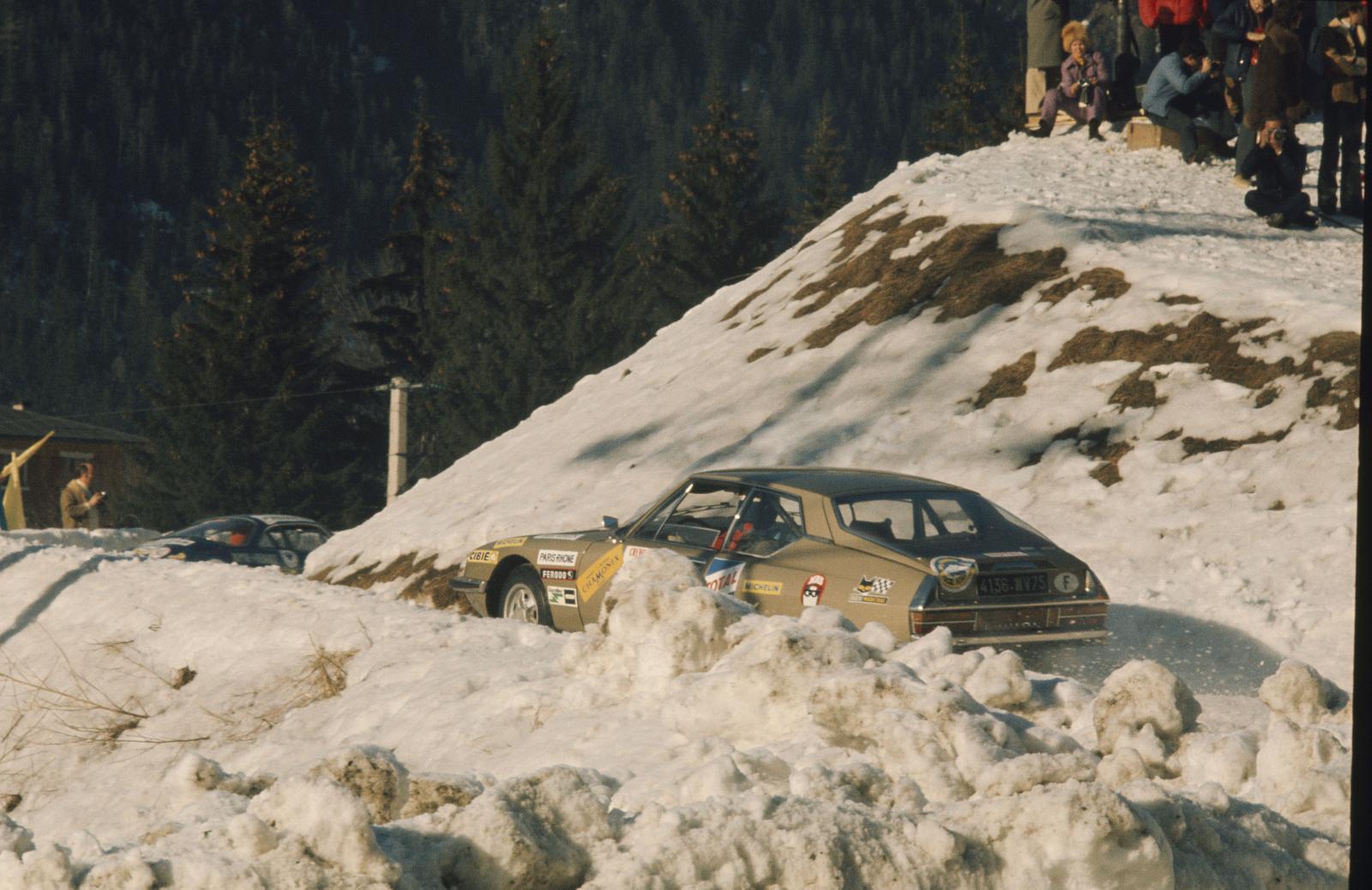 Ronde hivernale de Chamonix - SM - 1972 - vue arrière