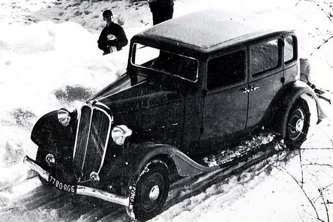 Rosalie 10 NH Conduite Intérieure 1934
