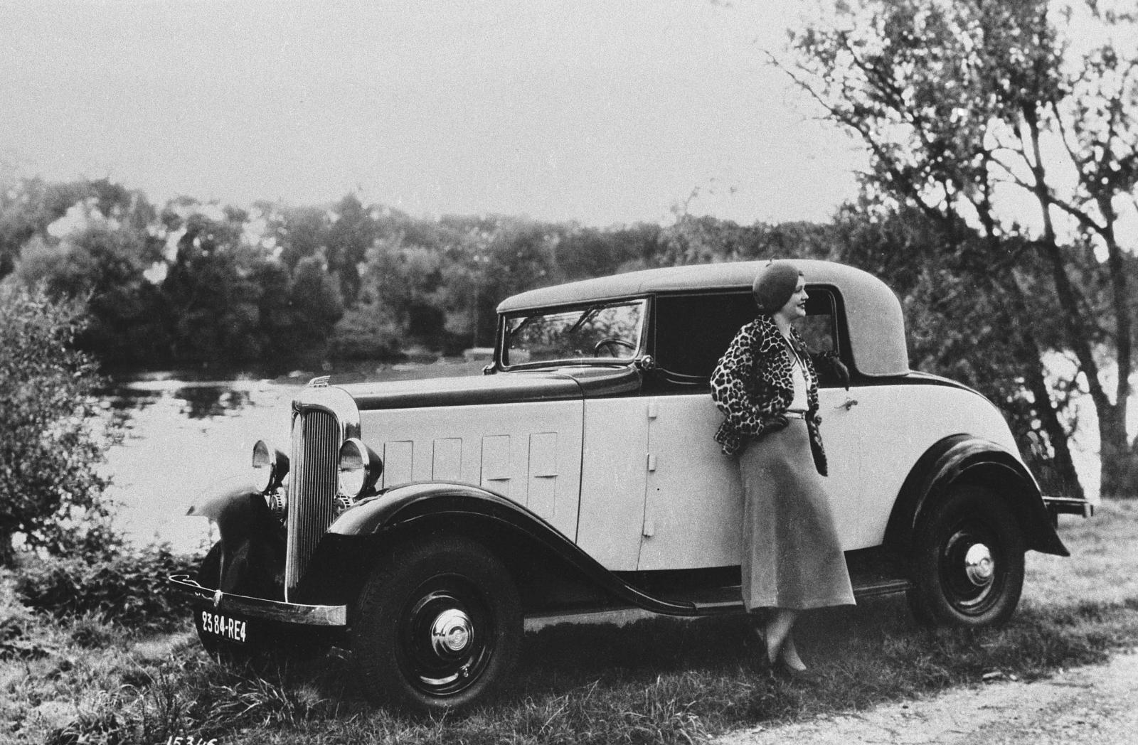 Rosalie 8CV Faux Cabriolet 2 places 1933