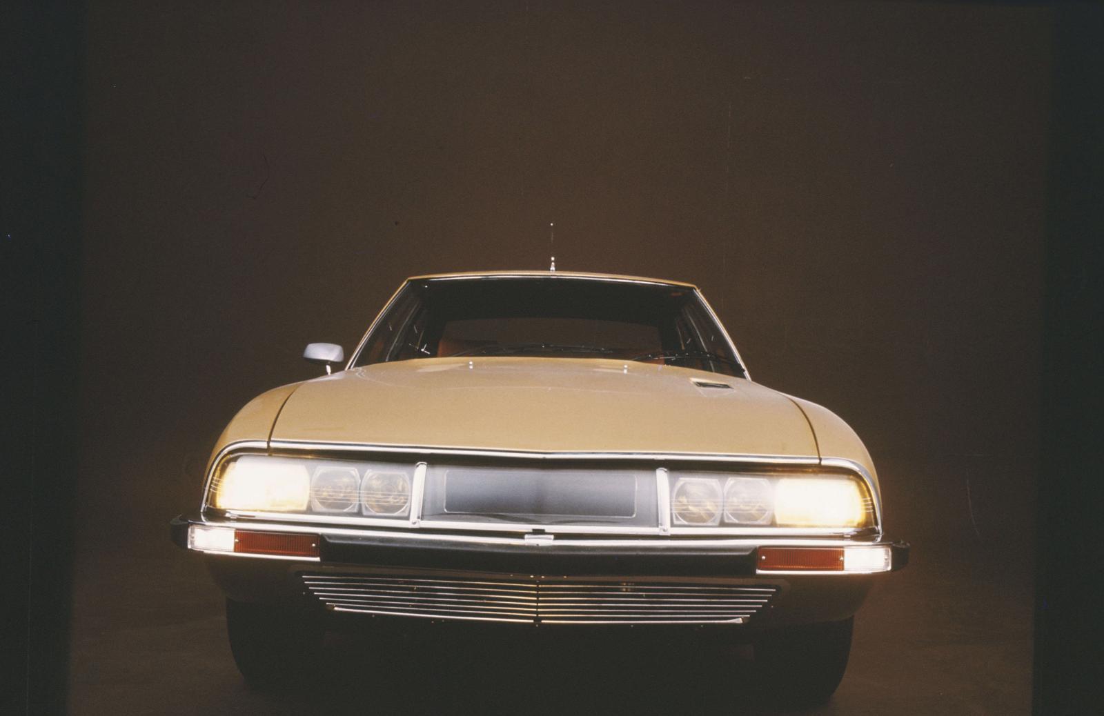 1970 yılının SM coupé versiyonu