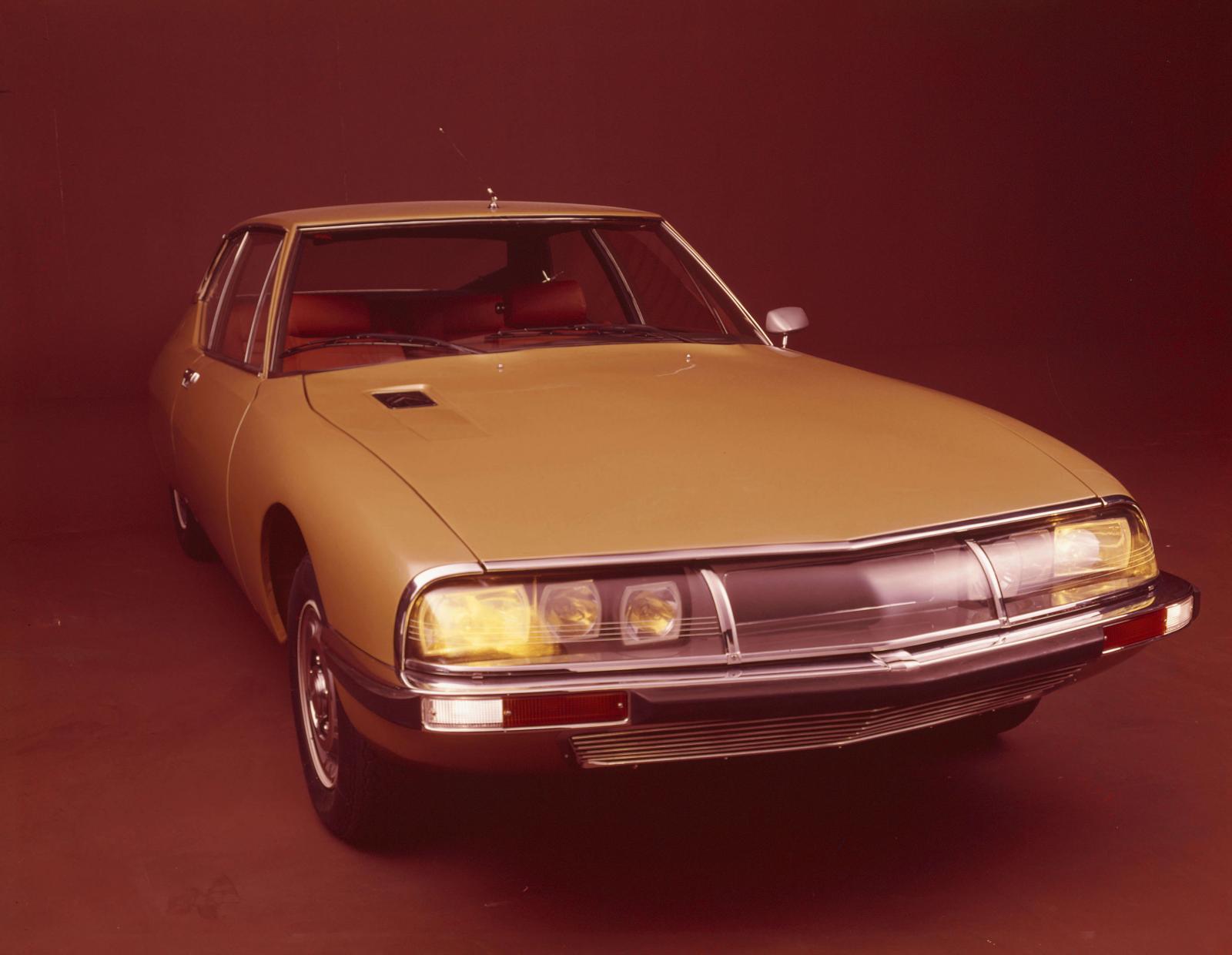 SM coupé de 1970 - vue avant