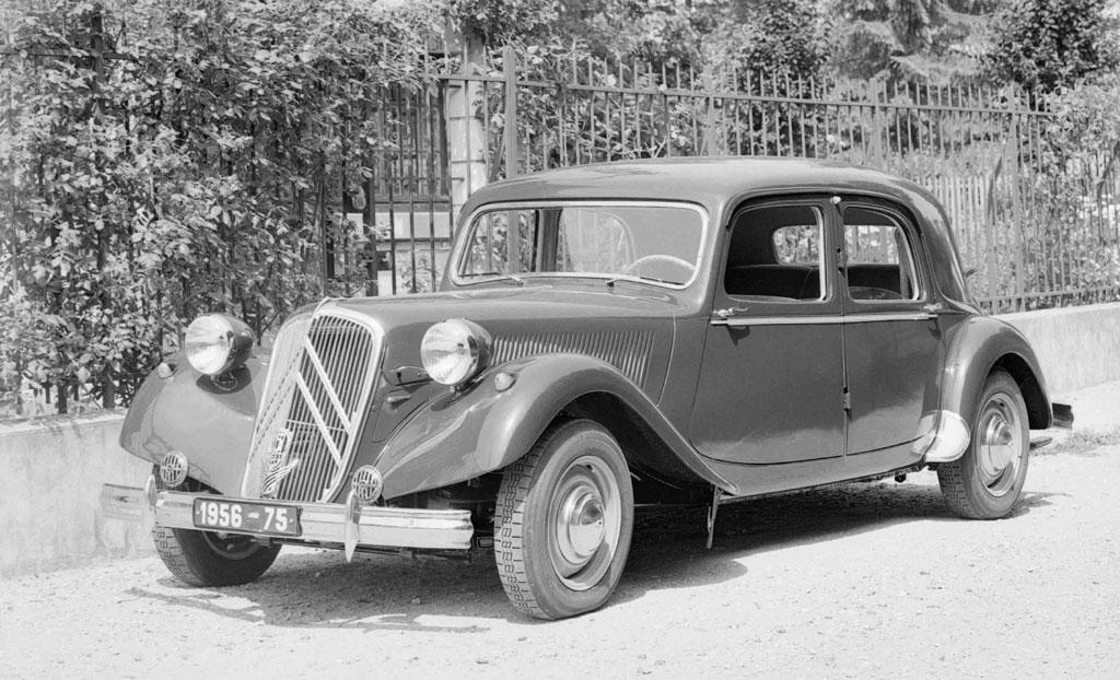 Traction 15 SIX H του 1955