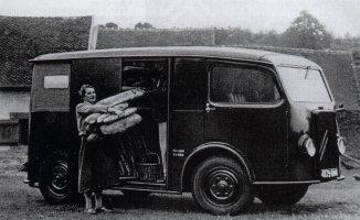 TUB 1939 als Bäckereifahrzeug