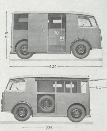 TUB Abmessungen 1939