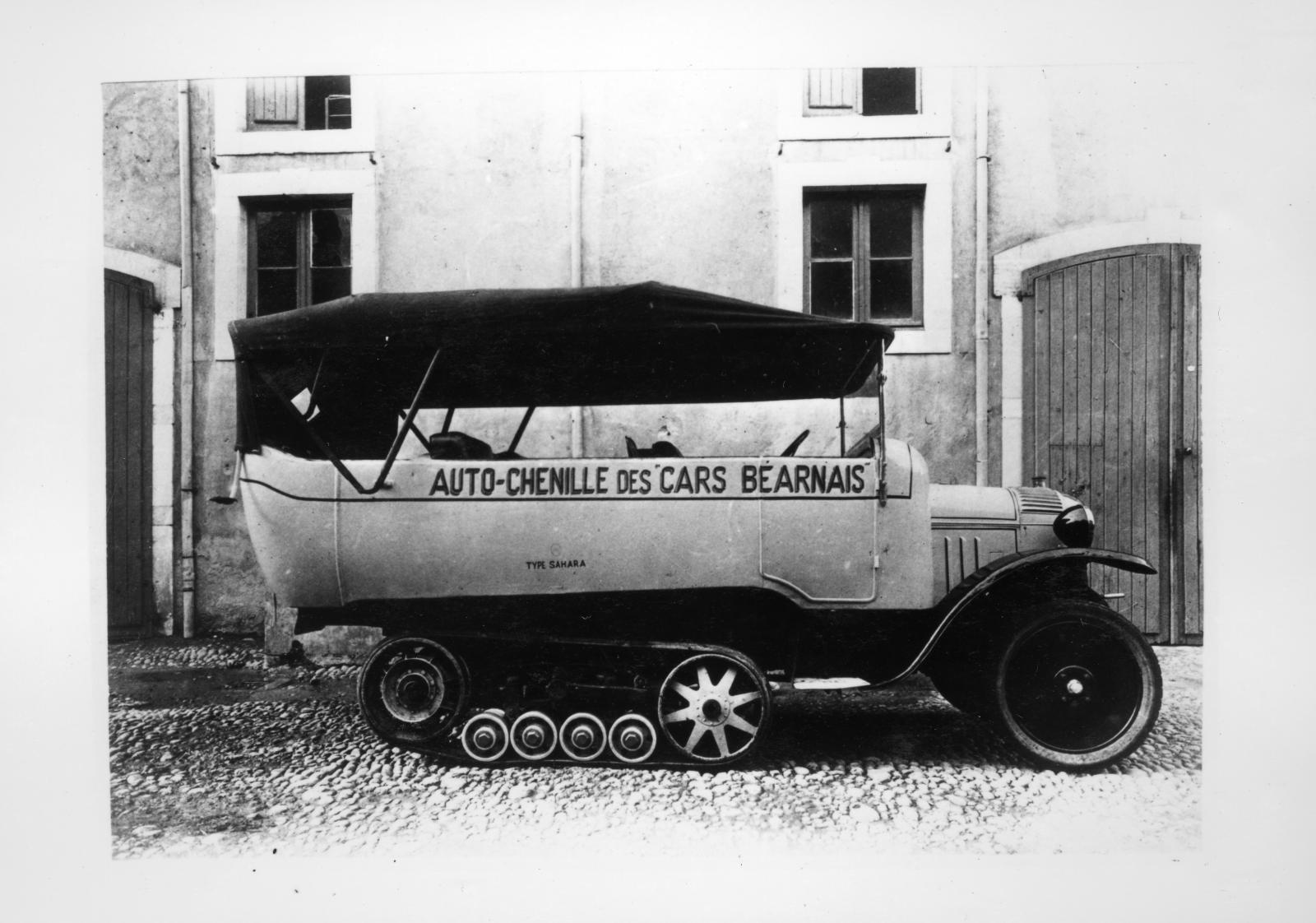 Type K1 - Autochenille des Cars Béarnais