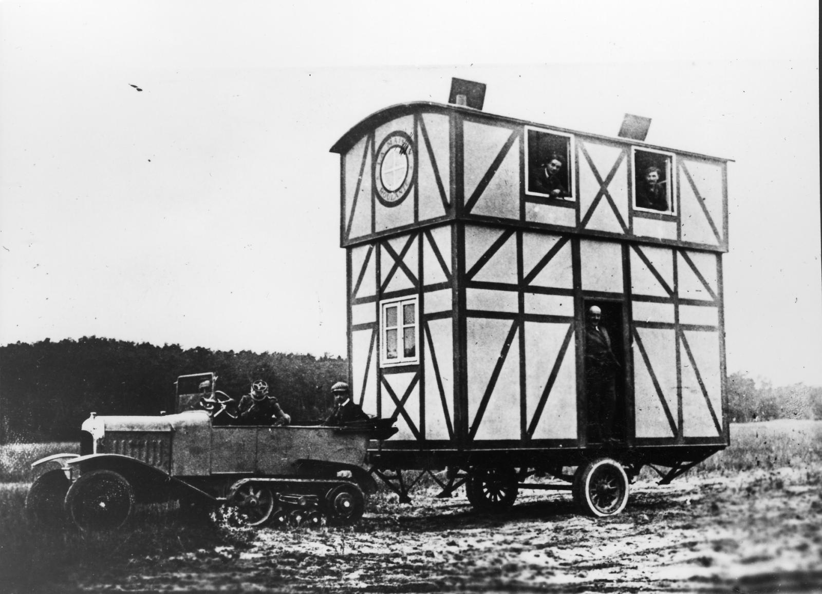 Type K1 - B2 maison roulante