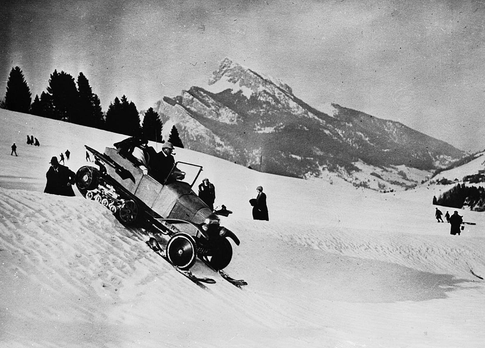 Type K1 - mountain pass of Montets