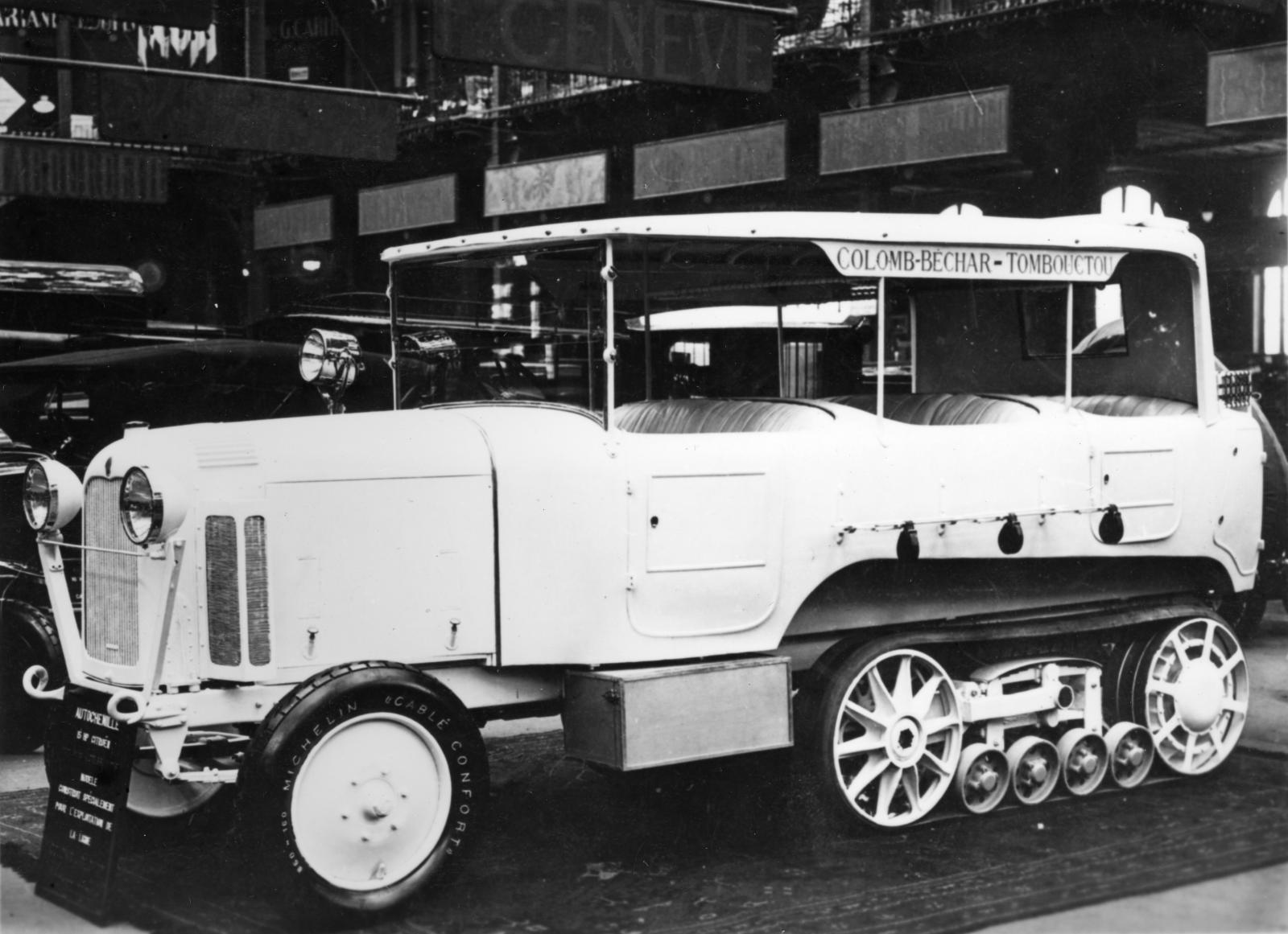 Type P6 - Véhicule Raid Sahara présenté au Salon de 1924