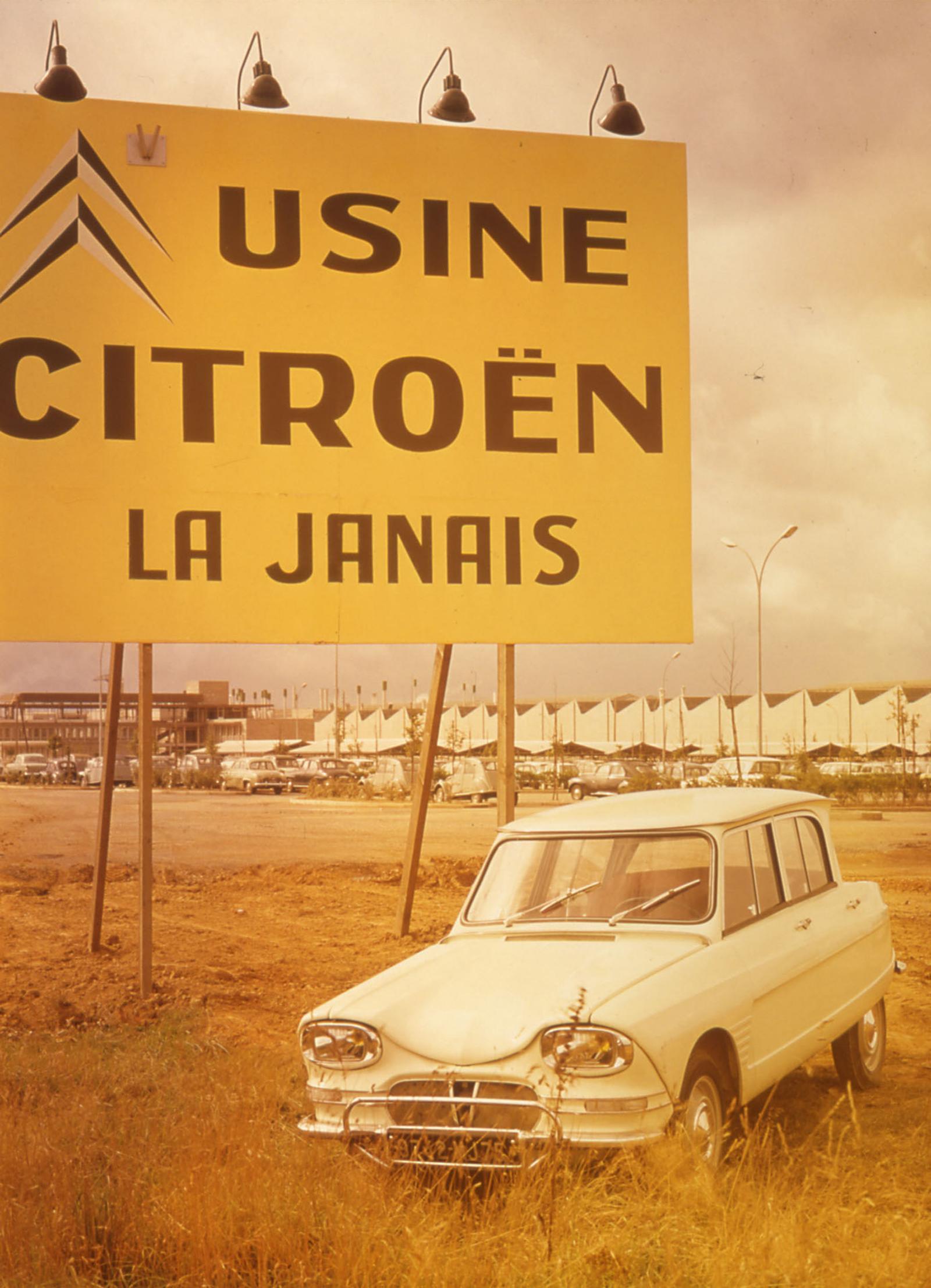 Usine de Rennes 1965