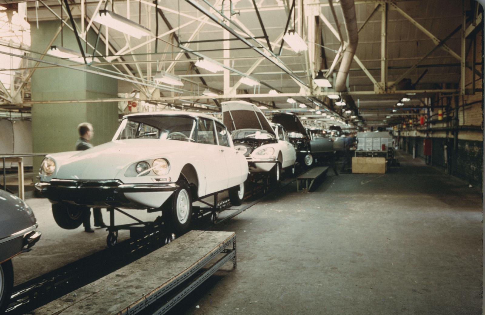 Usine DS de Bruxelles Forest - 1969