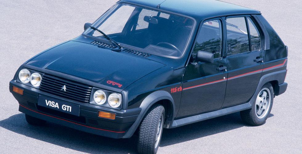 Visa GTI 115 Ch 1986