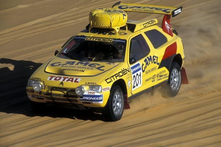 ZX Rallye Raid 1991 Paris Dakar
