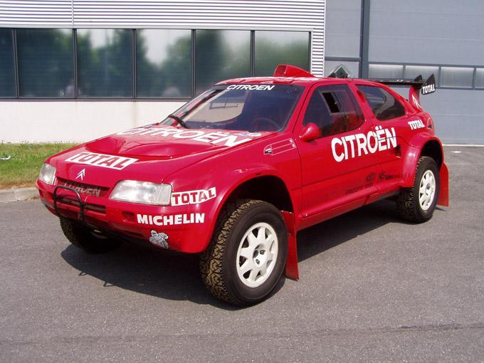 ZX Rallye Raid 1993 au conservatoire