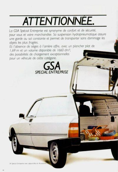 3 pages Publicité advertising 1975 Citroen GS