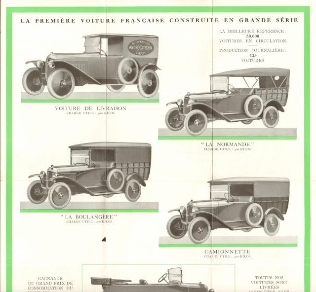 Les voitures de transport